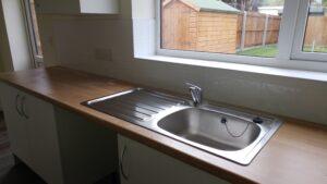 Lichfield kitchen post-clean